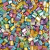 Tiny Flats 5X3.5mm Metallic Multi Terra Colour